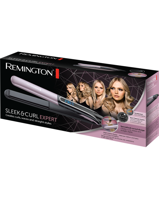 REMINGTON Sleek & Curl Expert
