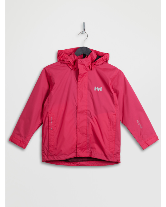 Helly Hansen Jr Duro Packable Jacket Magenta