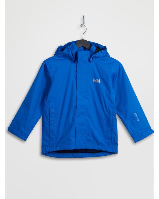 Helly Hansen Jr Duro Packable Jacket Cobalt Blue