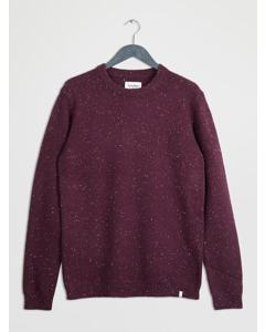 Universal Knit L/s Bordeaux