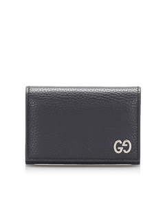 Gucci Leather Card Holder Black