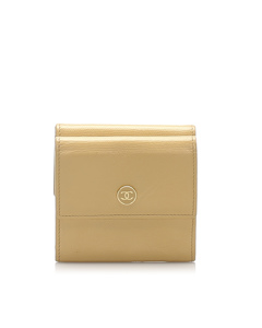 Chanel Leather Small Wallet Brown