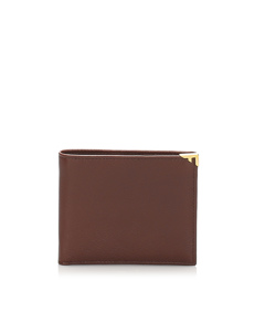 Ferragamo Leather Small Wallet Brown