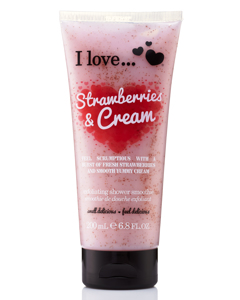 Strawberries & Cream Exfoliating Shower Smoothie