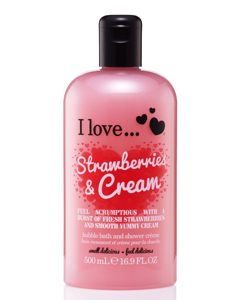 Strawberries & Cream  Bath & Showe Cream