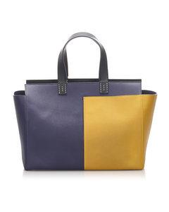 Hermes Leather Handbag Yellow