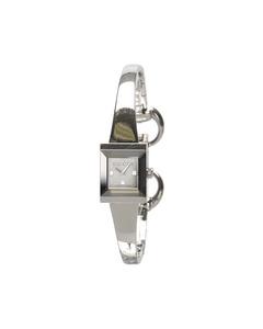 Gucci 128.5 Square Watch Silver