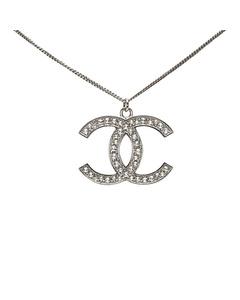Chanel Cc Neckalce Silver