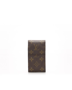 Louis Vuitton Monogram Cigarette Case Brown