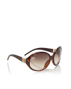 Dolce&gabbana Round Tinted Sunglasses Brown