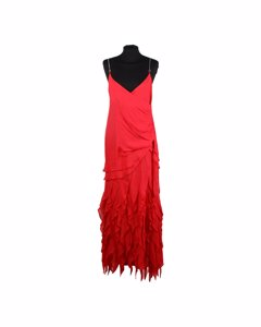 Gai Mattiolo Red Fabric Dress Mod: Evening Dress