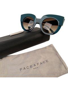 Face a Face Green Plastic Sunglasses Mod: Masai 1