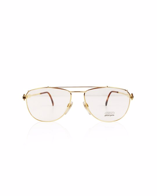 Other Gerald Genta Gold Gold Aviator Sunglasses Model: Gold and Gold 03 AU