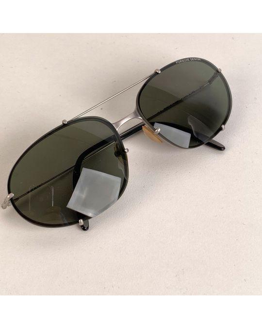 Other Porsche Design Silver Metal Aviator Sunglasses Model: P1003