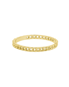 Chain Bangle G Gold