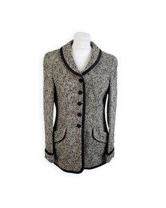 Rena Lange Vintage Gray Wool Blend Blazer Jacket
