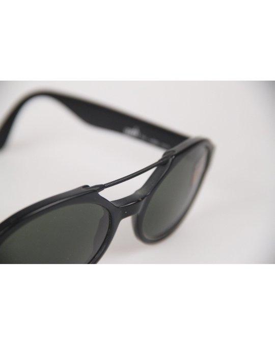 Other Web Black Oval Mint Sunglasses Mod. 2504 Large 0217s 55mm W/case