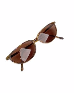Finissimo Brown Acetate Cat-eye Solglasögon Modell: M Finissimo 26