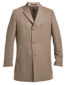 Melton Wool Coat Sand