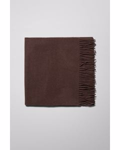 Rei Wool Scarf Brown