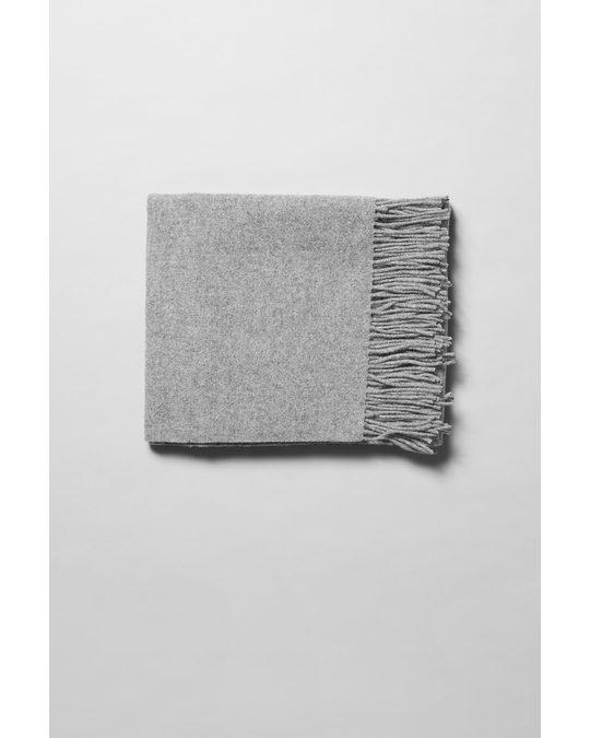 Weekday Rei Wool Scarf Grey