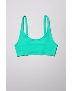 Cat Soft Bra Green