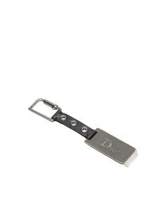 Dior Leather Key Chain Black