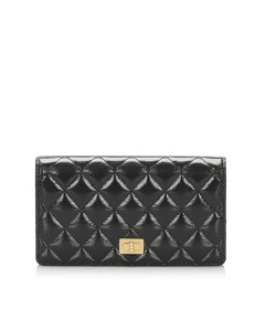 Chanel Matelasse Reissue Bifold Long Wallet Black
