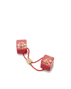 Louis Vuitton Inclusion Hair Cubes Red