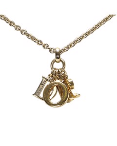 Dior Dior Logo Necklace Gold