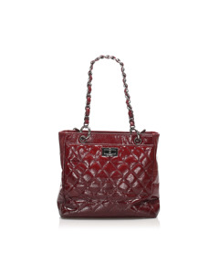 Chanel Caviar Reissue Tote Bag Red