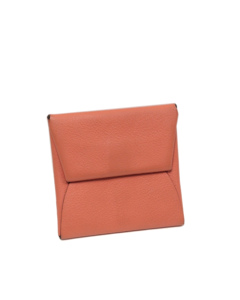 Hermes Evercolor Bastia Coin Pouch Pink