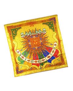 Hermes Carpe Diem Silk Scarf Yellow