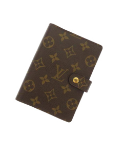 Louis Vuitton Monogram Agenda Pm Brown