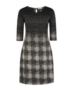Damen Kleid Jaquard