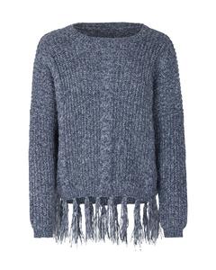 Mädchen Pullover mit Fransen