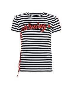 Mädchen T-Shirt Ringel
