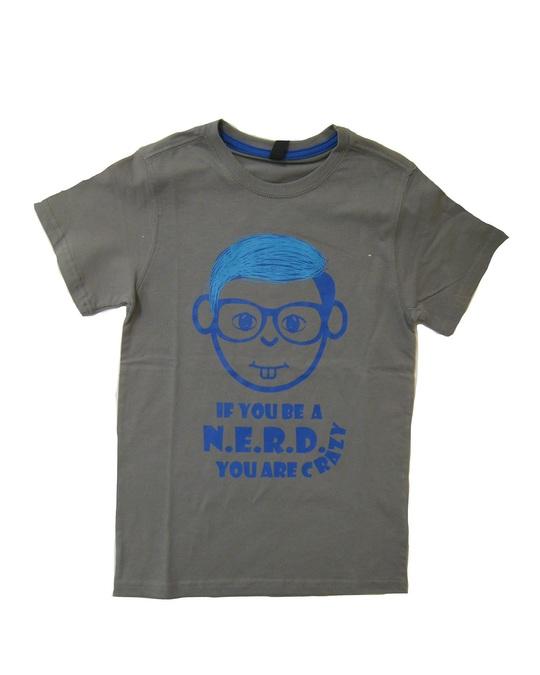 Streetkids Jungen T-Shirt Nerd CRAZY