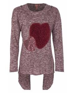 Mädchen Shirt mit Herz