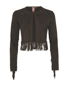 Mädchen Jacket Leather
