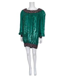 Vintage  Sequin Dressfrom 80's