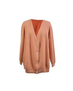 Maria Di Ripabianca Vintage Baby Pink Cashmere Cardigan Size 44