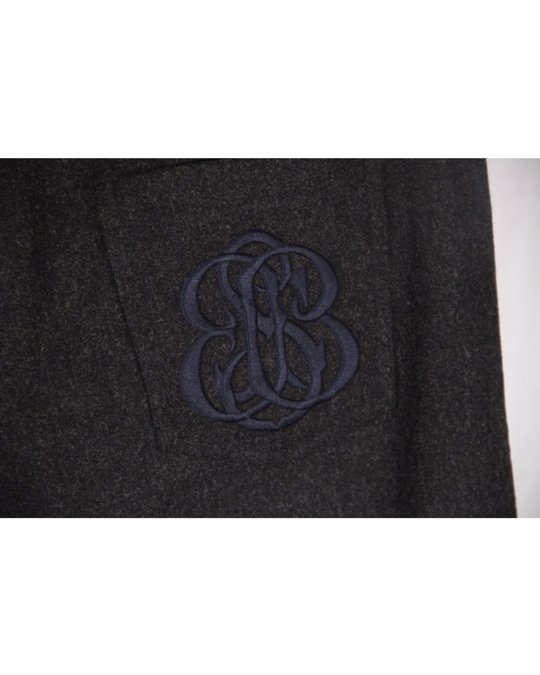 Balenciaga Balenciaga Dark Gray Wool Women Trousers Pants Size It 42