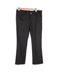 Balenciaga Dark Gray Wool Women Trousers Pants Size It 42