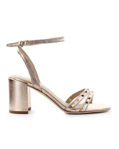 Ash Janis Copper Heeled Sandal