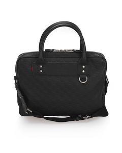 Gucci Guccissima Business Bag Black