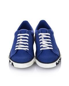 Balenciaga Match Canvas Trainers Blue