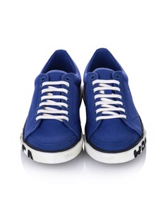 Balenciaga Match Canvas Trainers Blue