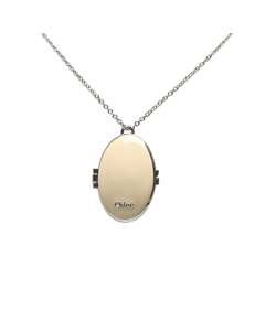 Chloe Perfume Pendant Necklace Brown