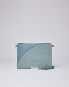 Greta Teal With Teal Suede